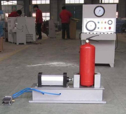 灭火器维修充气加压