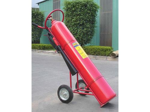 24公斤推车二氧化碳灭火器